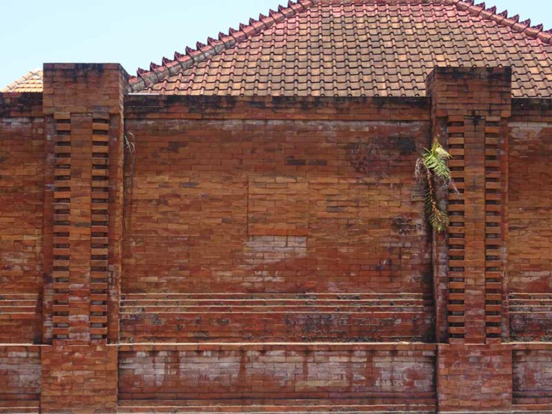Pagar Rumah Minimalis Dari Batu Bata Konsep Stil Bali