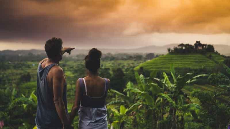 Sidemen Rice Terrace, Best Trekking Spot in Bali