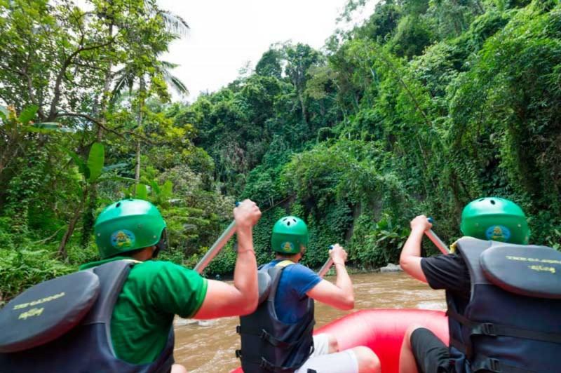 Ayung River Rafting Bali