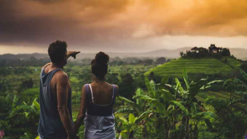 Best Time to Visit Rendang Rice Terrace