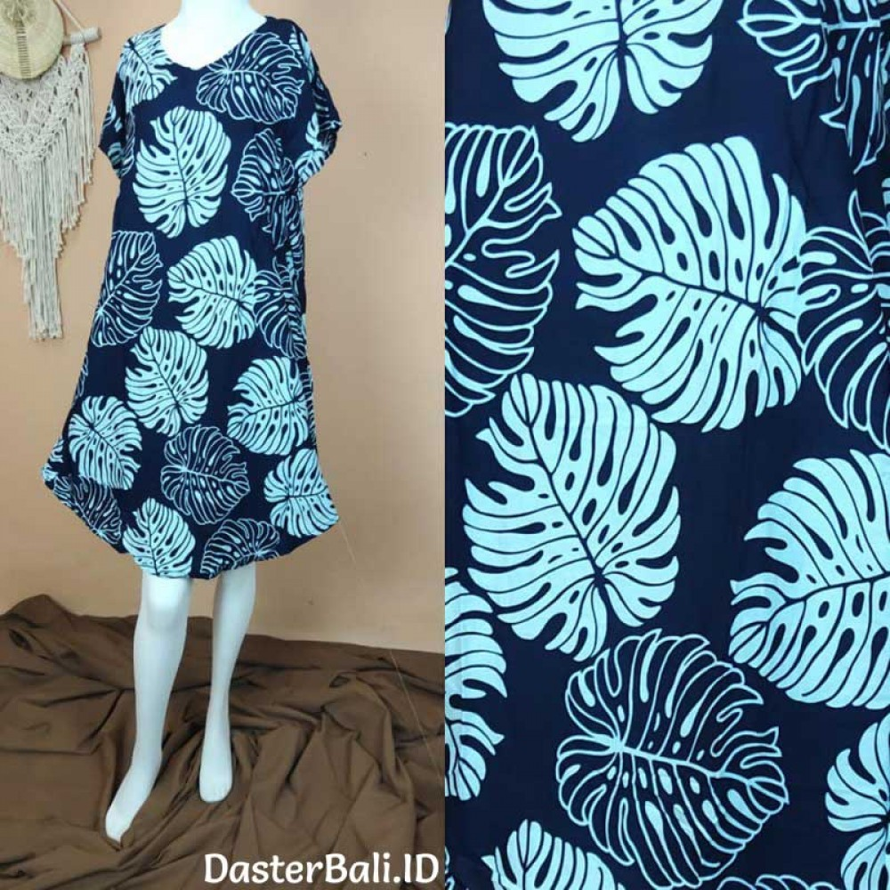 Foliage Motif Dress