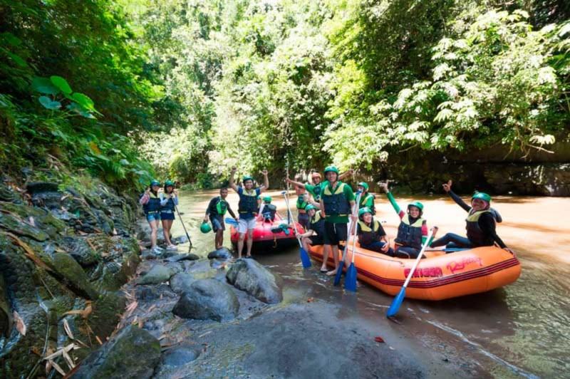 Rafting Karangasem
