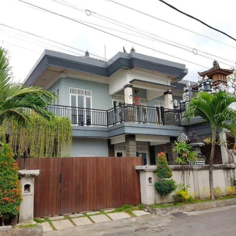 8 Inspirasi Rumah Minimalis Bali 2 Lantai Yang Unik Cantik