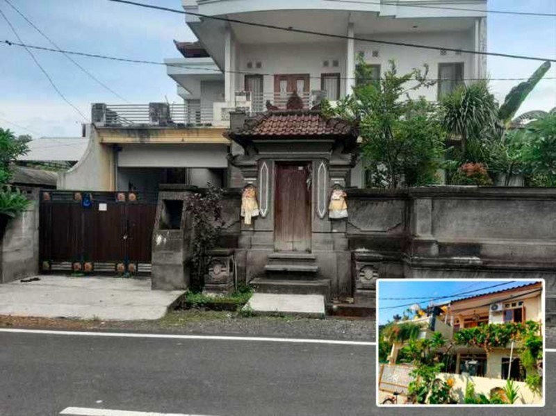 Rumah Bali Tingkat Mewah