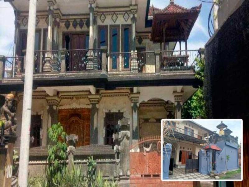 Rumah Konsep Bali 2 Lantai
