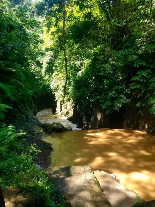 Spot Rafting Sungai Melangit Bali