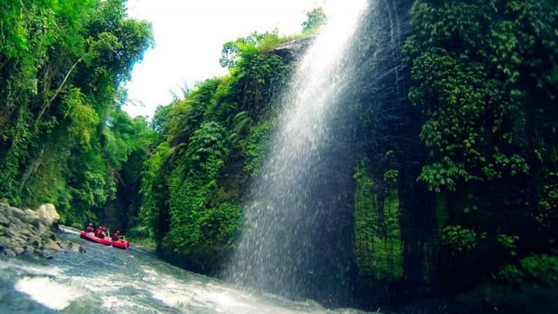 Spot Rafting Sungai Telaga Waja Bali