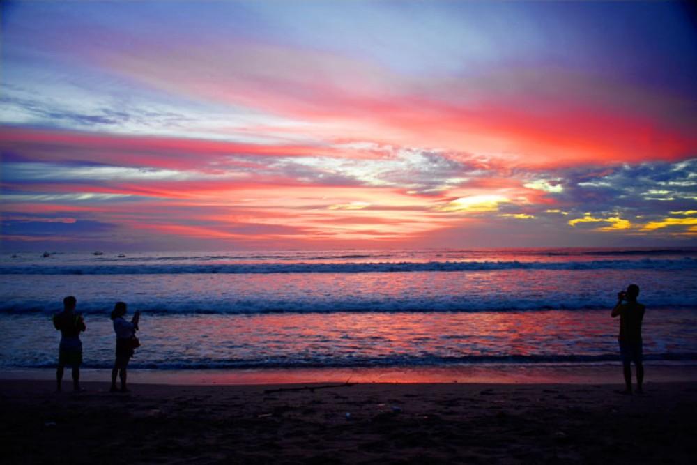 Sunset on Balis Beach