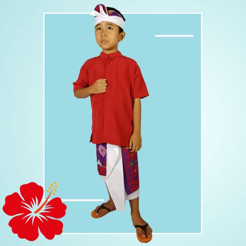 Baju Adat Bali Anak Laki2