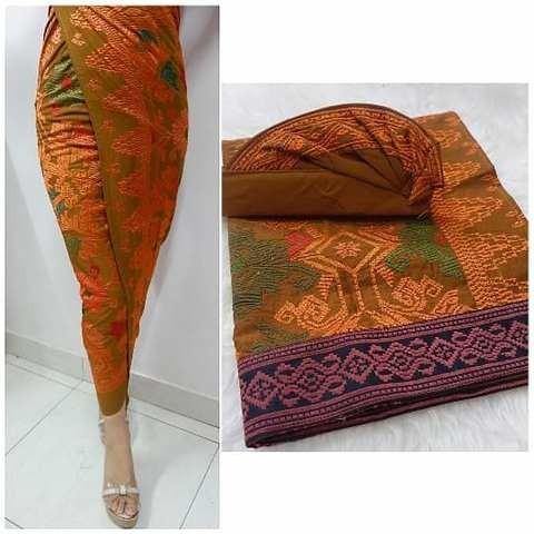 Baliya Set Couple Tema Orange