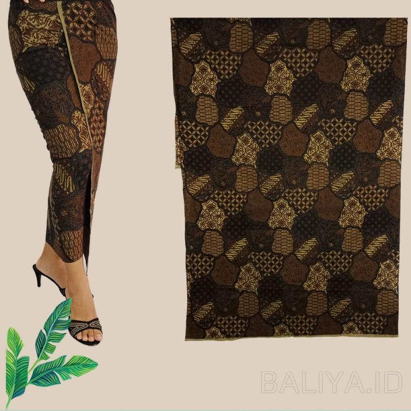 Batik warna coklat