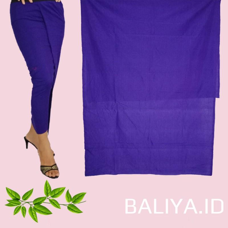Endek Bali polos warna Biru