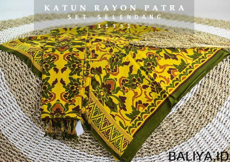 Kamen Bali Lembaran Motif Best Seller