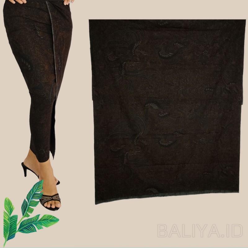 Kamen Batik Warna hitam klasik