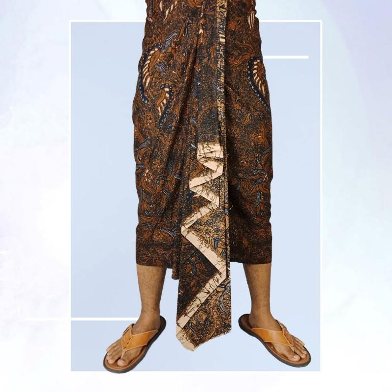 Kamen Kancut Pria Motif Batik Bali