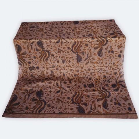 Kamen lembaran Batik Bali Klasik Warna Coklat