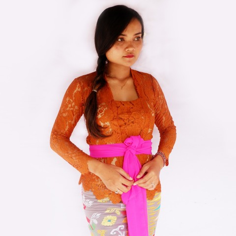 Kebaya Jadi Khas Bali Model Bet Tembaga