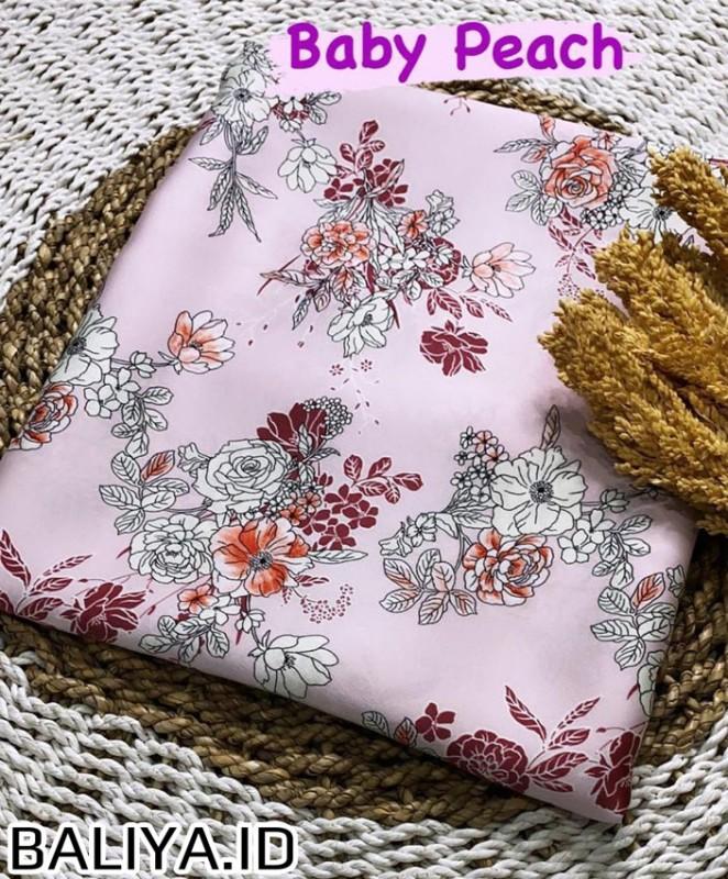 Bahan Silk Kebaya  Print Versace