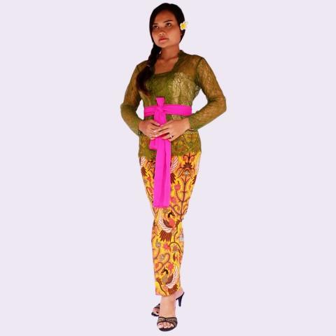 Model Setelan Kebaya Batik Modern