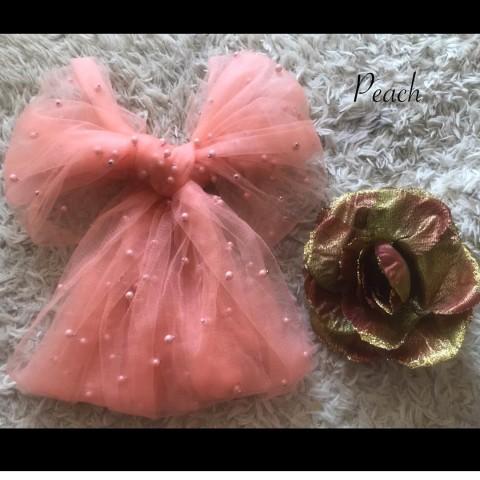 Selendang Pearl Modern Warna Peach