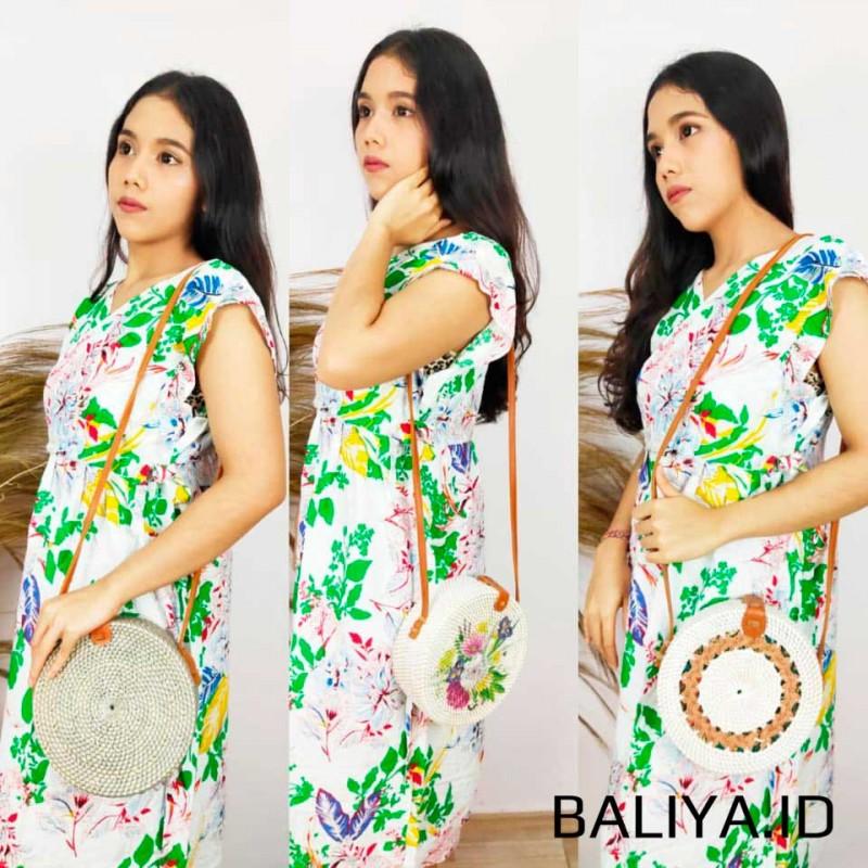 Tas Rotan Bulat Bali