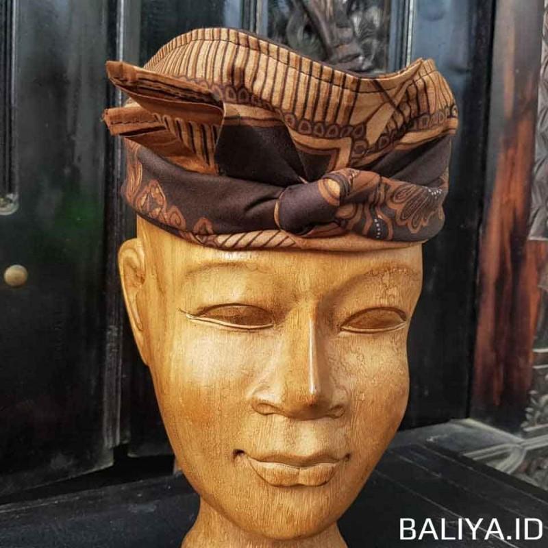 Udeng Pria Motif Batik Bali