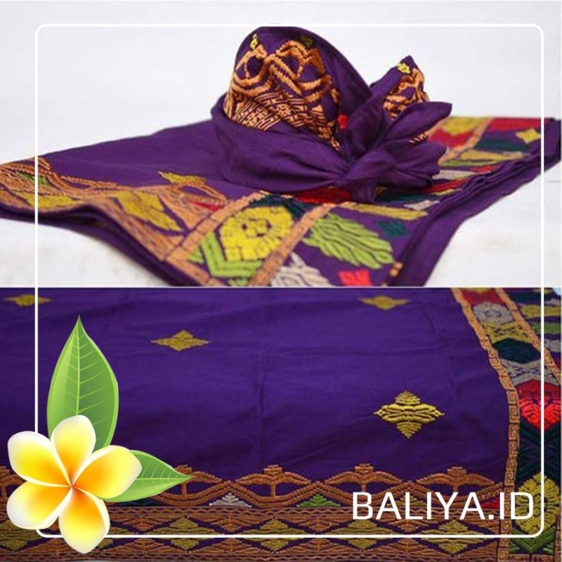 Pakaian Pria Dewasa (Kamen, Udeng, Safari)