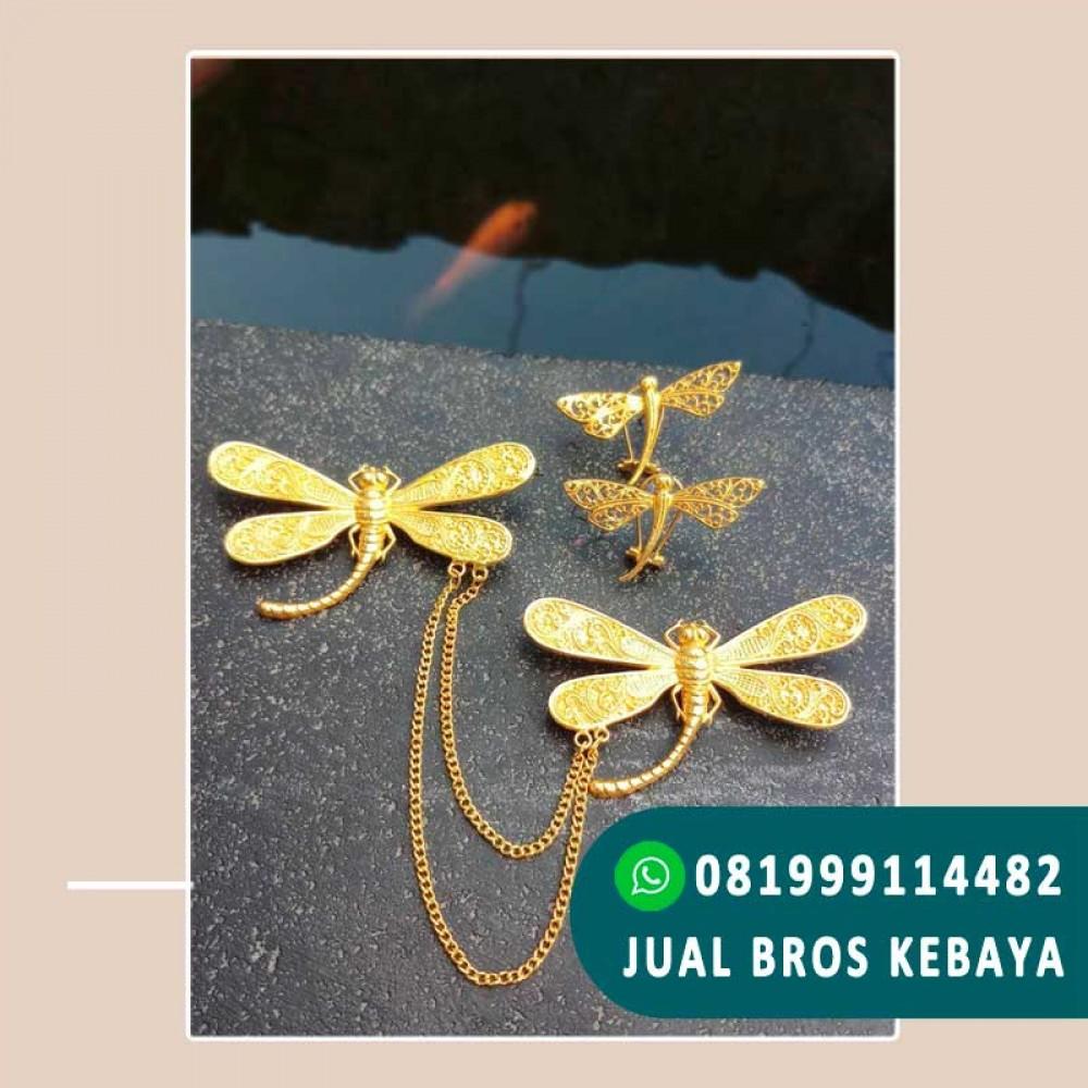 Bros Kebaya Bali Motif Capung
