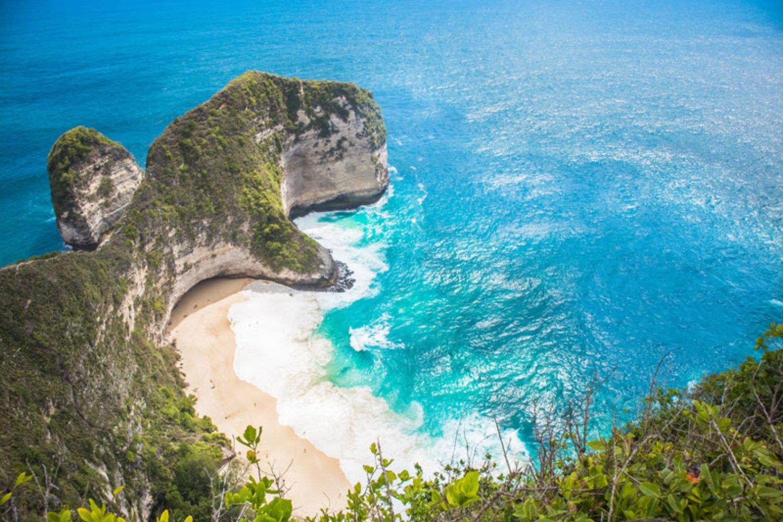 Kelingking Beach Nusa Penida Dengan Tebing Yang Menakjubkan