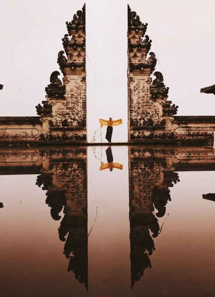Lempuyang, One of Sad Khayangan Jagat in Bali Temple