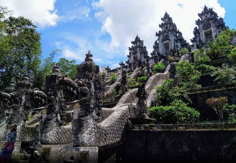 Nature Charms around Lempuyang Luhur Temple in Bali