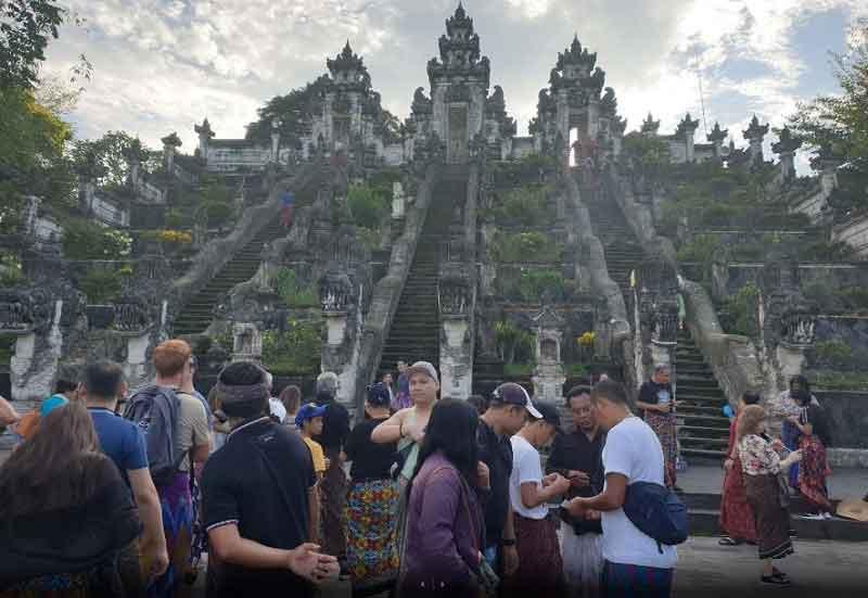 Lempuyang Sacred Temple in East Bali