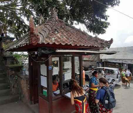 Location of Lempuyang Temple