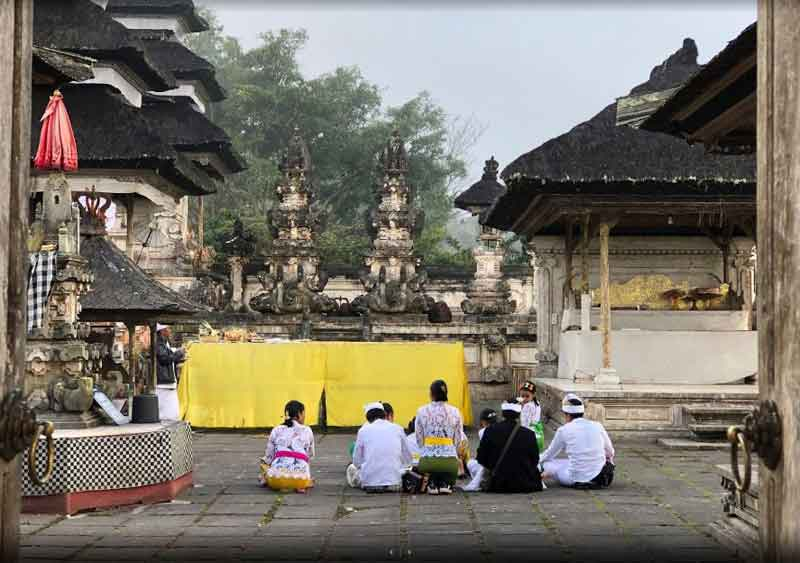 Lempuyang Temple Bali with Gate to Heaven