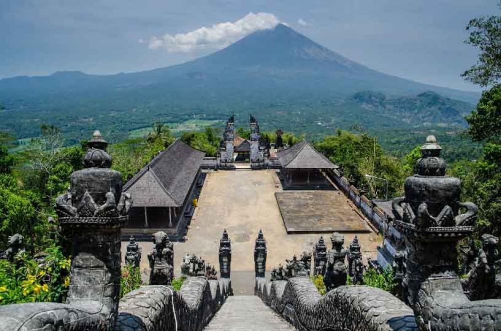 Lempuyang Temple from Four Seasons Resort Bali
