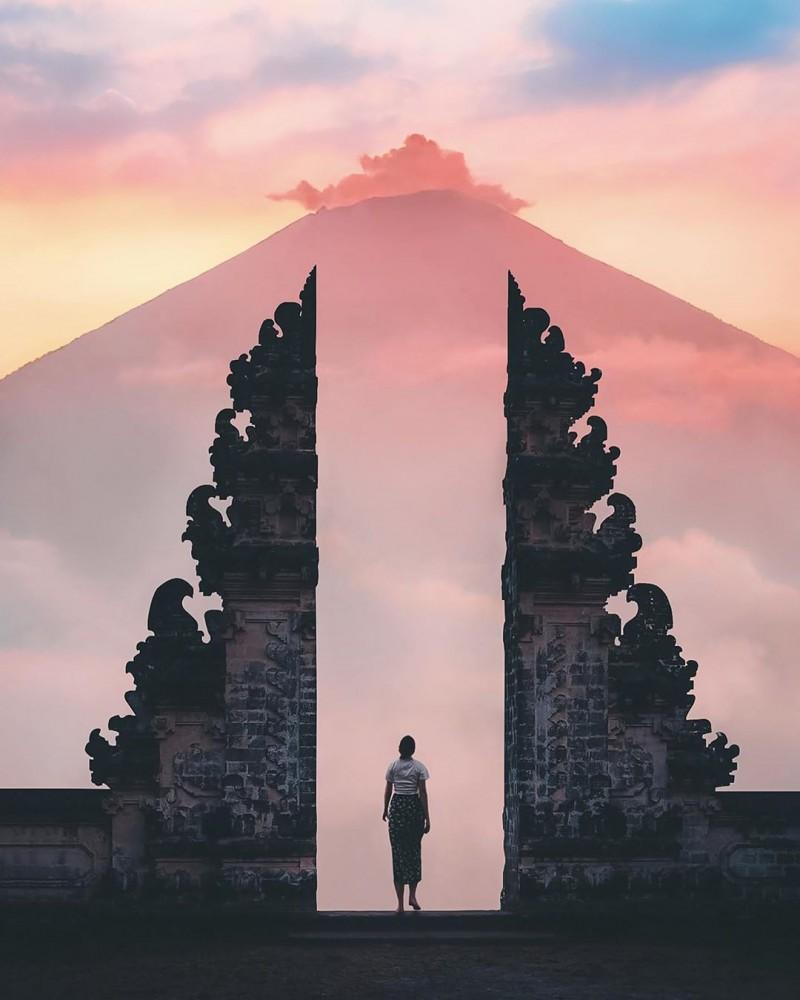 Gate of Heaven in Bali