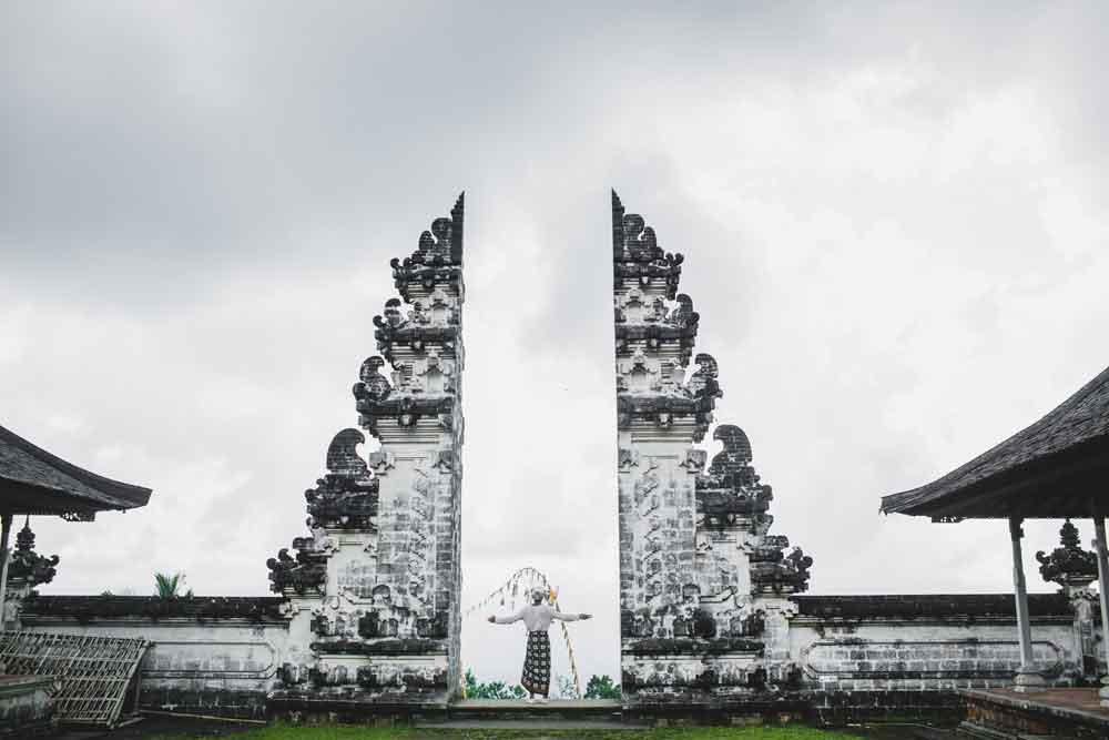 Lempuyang Temple Sarong