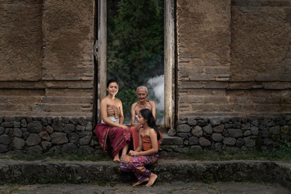 Local People in Tenganan Village Bali