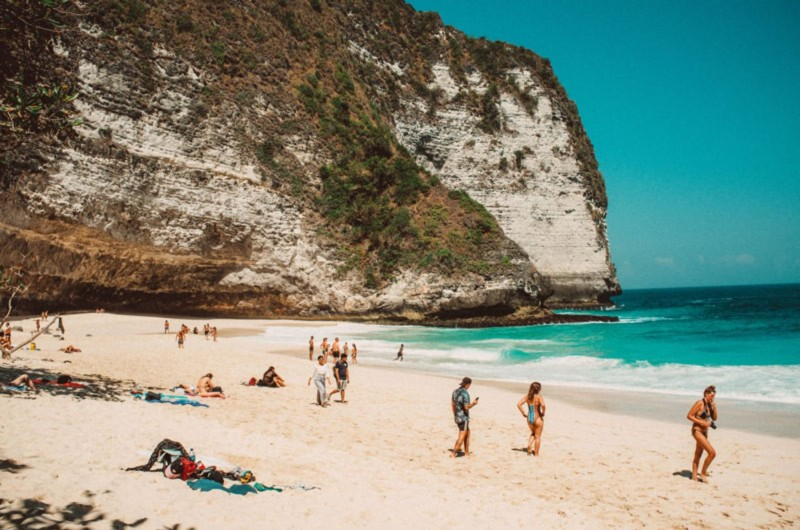 Pantai Kelingking Di Nusa Penida