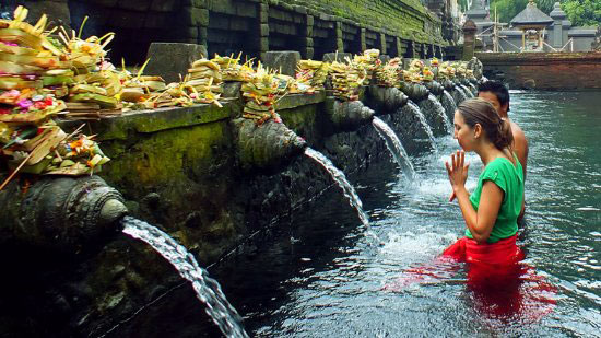 Purification Ritual by Holy Water