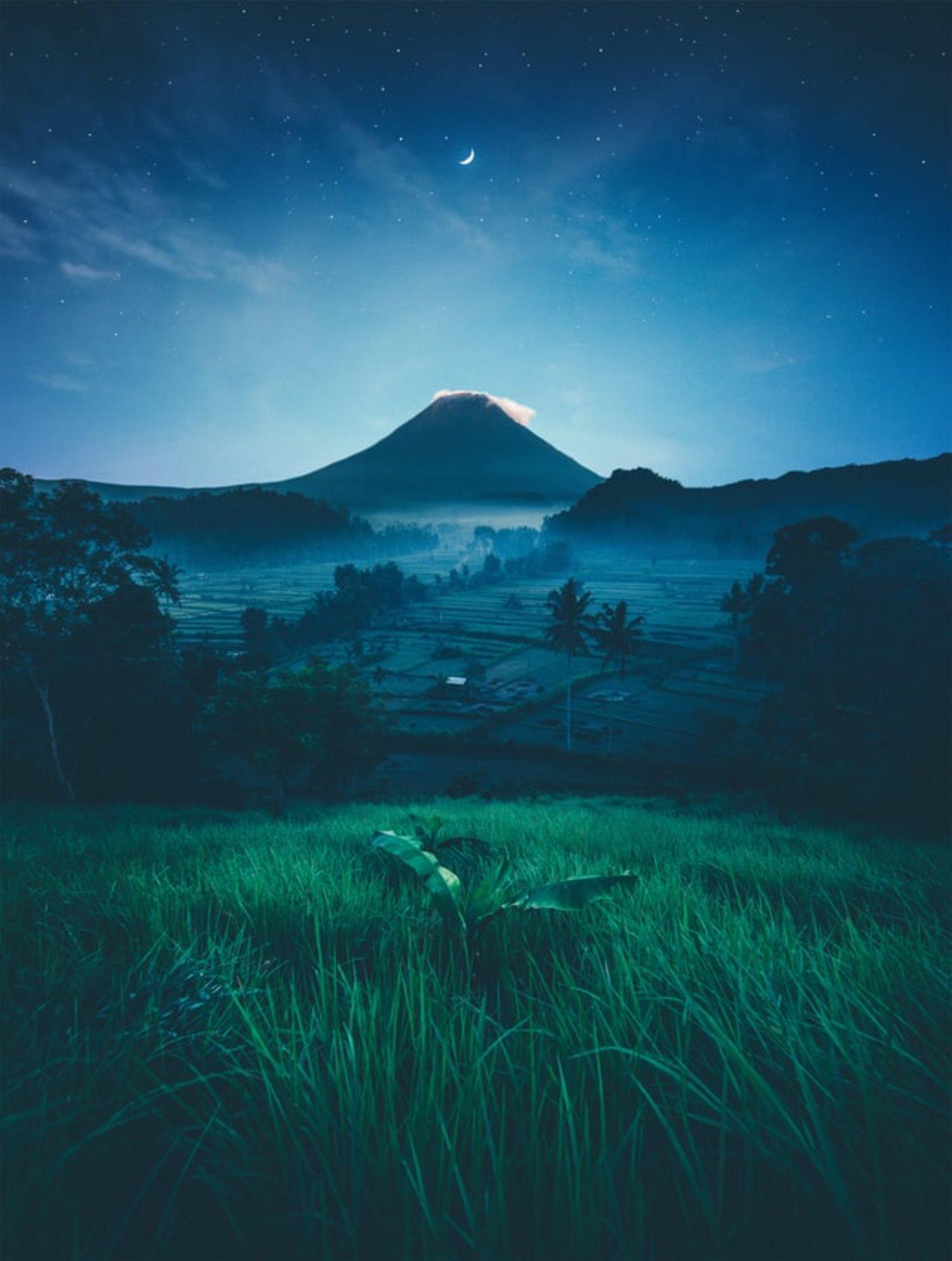 Stargazing on Bali Sky During Nyepi