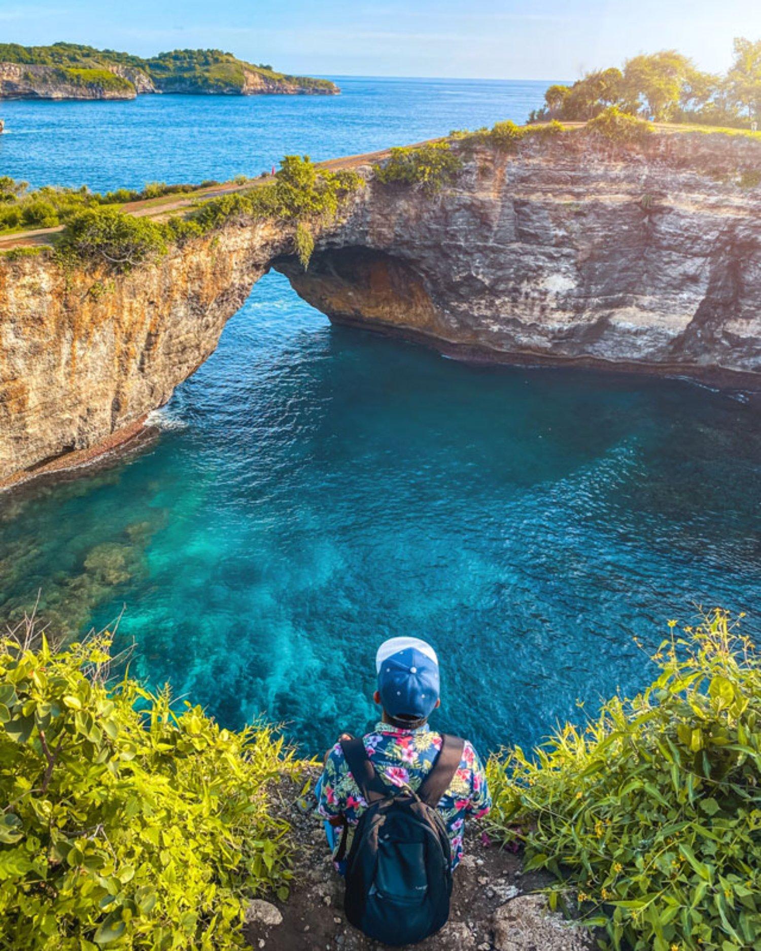 Broken Beach Nusa Penida Dengan Pemandangan Tebing Yang Unik