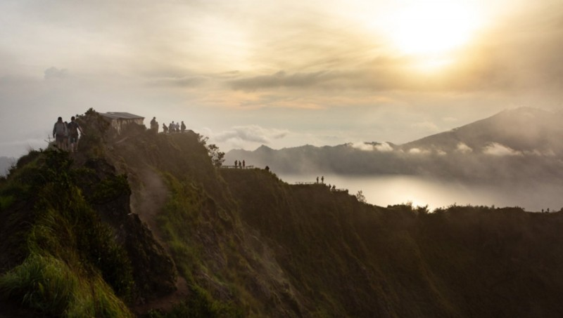 Jalur Pendakian Gunung Batur