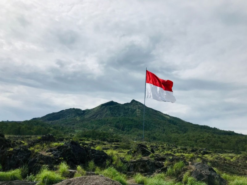 Lokasi Gunung Batur