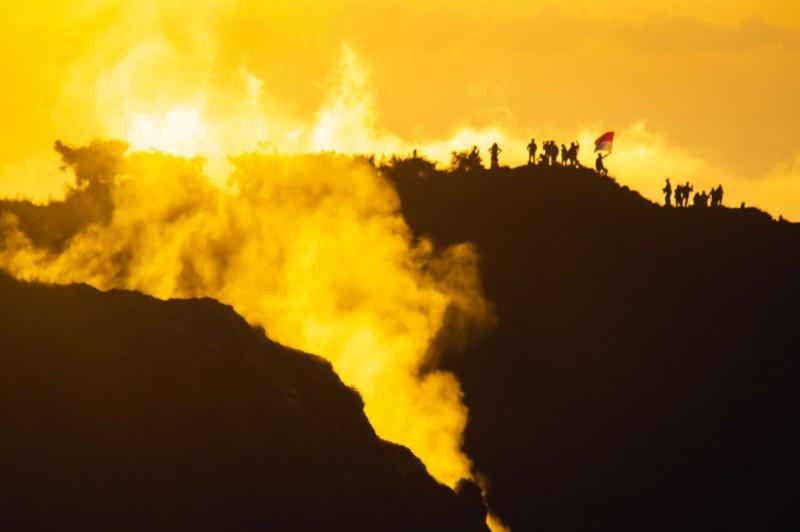 Rute Pendakian Gunung Batur