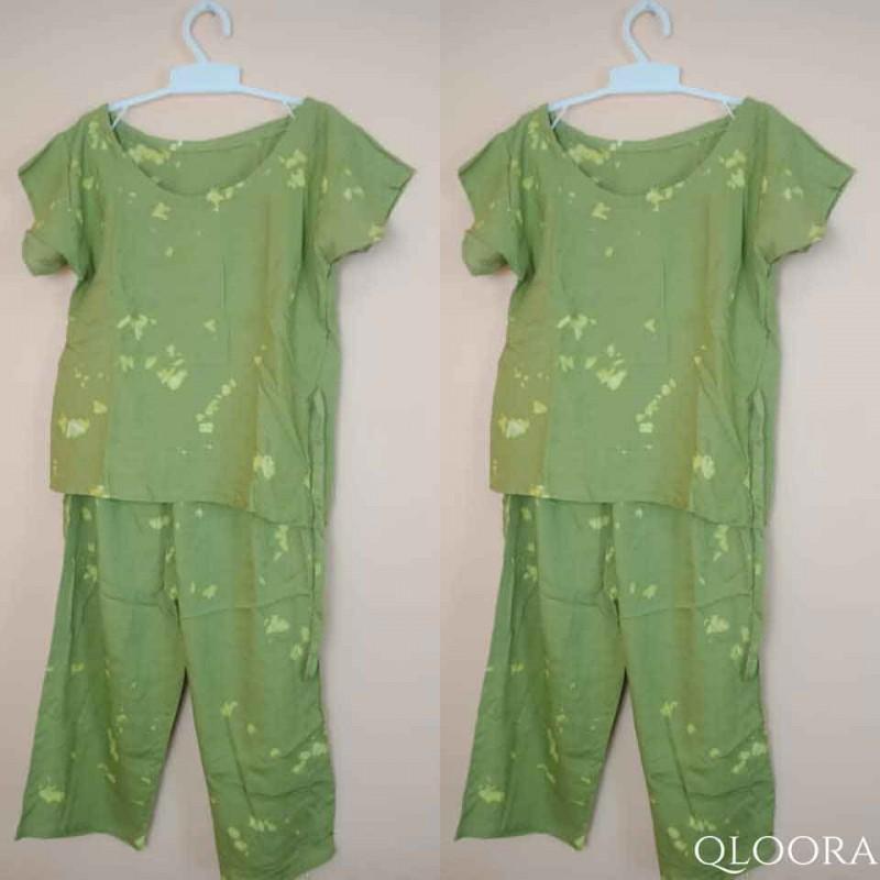 Baju Tie Dye Anak Perempuan Set
