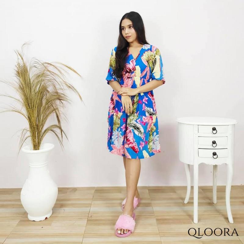 Daster Bali Lengan Pendek Model Nikita