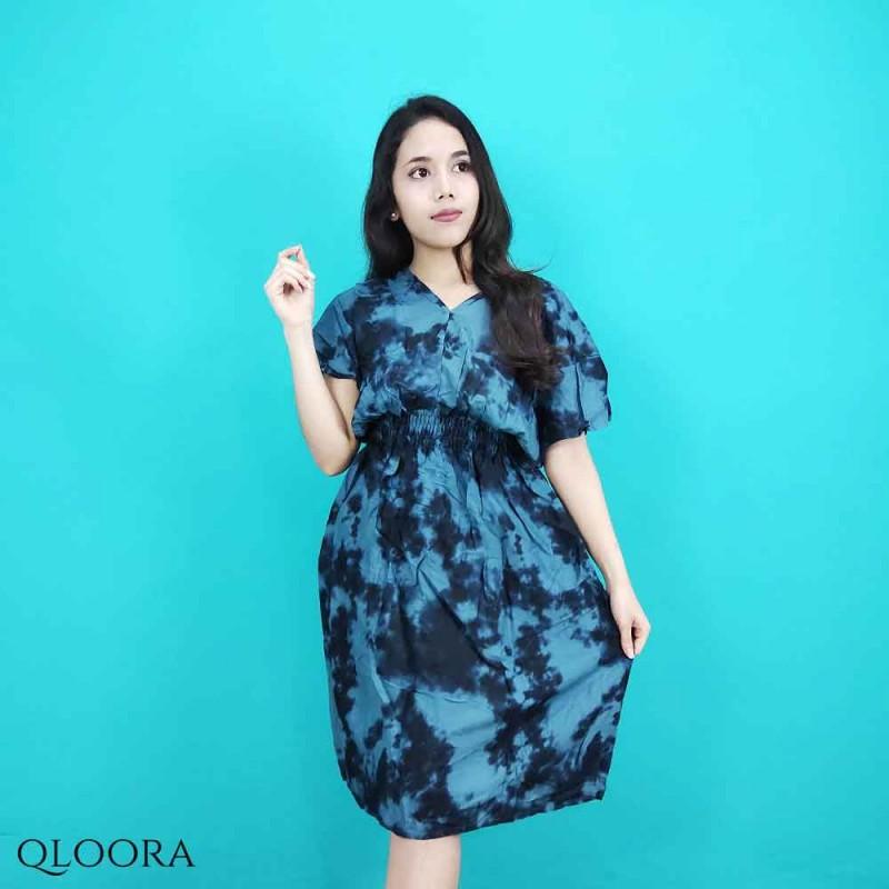 Daster Kaos Tie Dye Model Qloora
