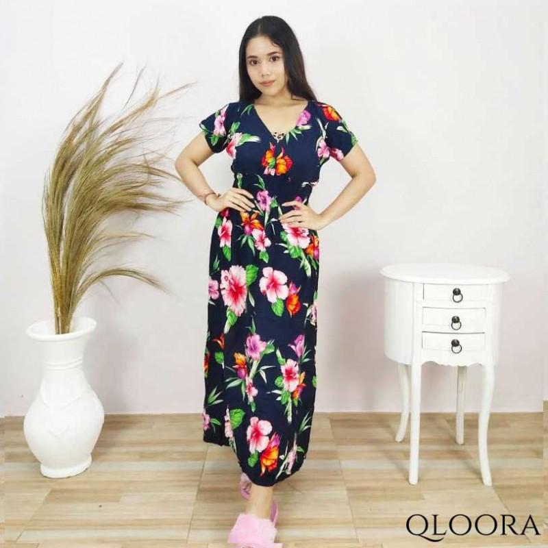 Daster Wanita Panjang Model Kayla