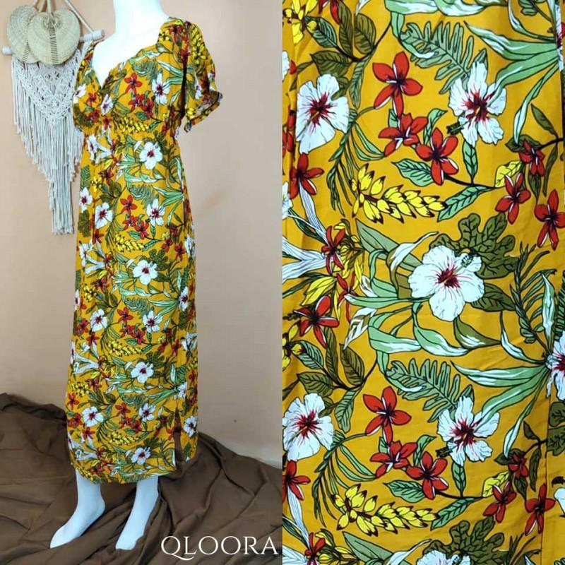 Daster Bali Model Zara Motif Bunga